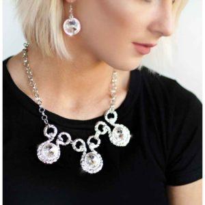 Hypnotized-Silver $5 necklace set