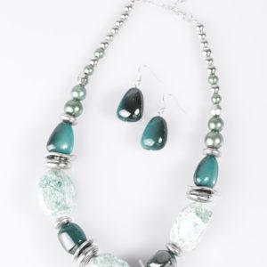 In Good Glazes Blue paparazzi five dollar jewelry